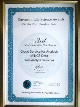 European Life Science Award 2014