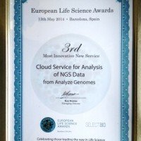 2014 European Life Science Award